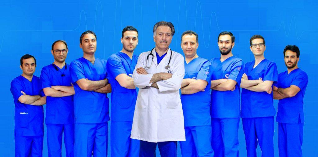 معروف ترین جراح قلب ایران