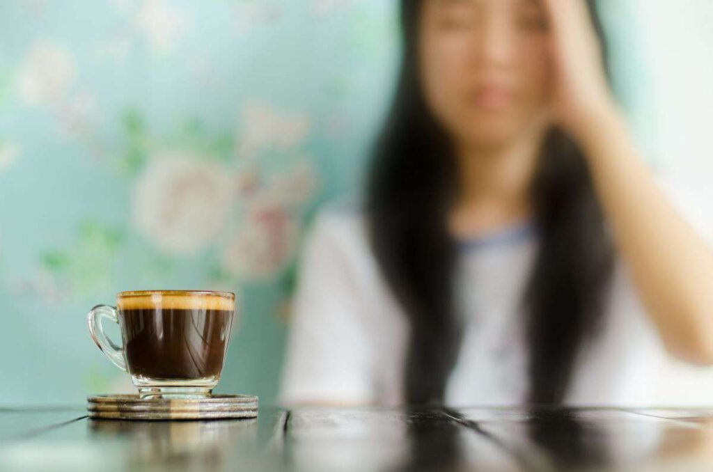 درمان تپش قلب بعد از خوردن قهوه